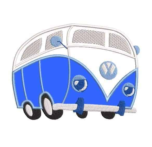 Wolkswagen bus applique5x7