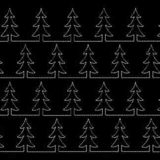 Stipple Christmas tree
