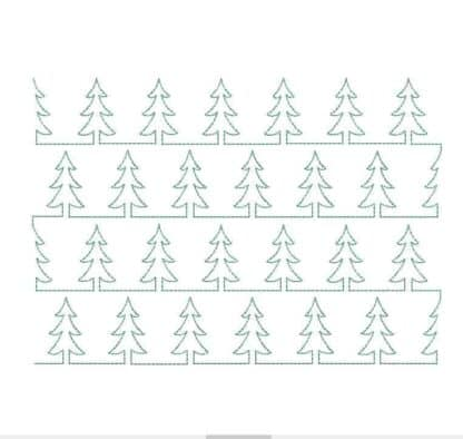 Stipple Christmas tree