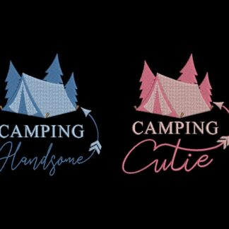 Camping Cutie and Handsome