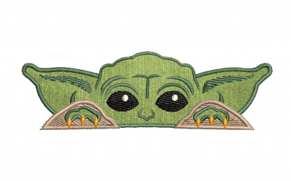 Baby Yoda embroidery patch